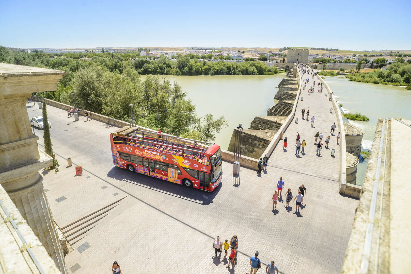 CÓRDOBA EXPERIENCE (48H BUS TURÍSTICO + 2 WALKING TOURS + MINI BUS TRANSFER MEDINA AZAHARA)<br /><strong>Ticket 48h  <strong class='extra_info_articulo'>- desde 25.00 €  </strong></strong>